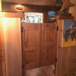 Framed Board  & Batten Barn Style Doors- Interior Barn Doors