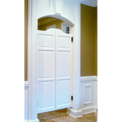 "70"" Tall Arch Top Door 
