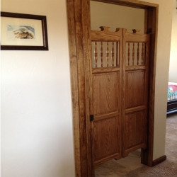Oak Western Saloon Swinging Doors