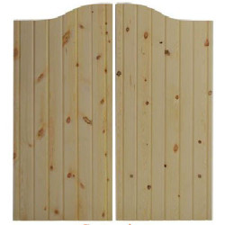 Rustic Santa Fe Western Saloon Doors