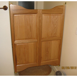 Cottage Cafe Doors- Water Closet Doors