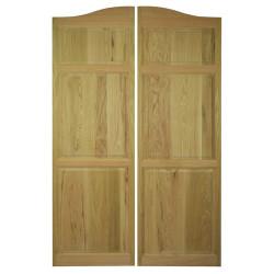 Full Length Arch Top Saloon Doors   Swinging Cafe Doors