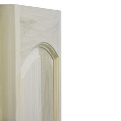 Side View of Rounded Arch Saloon Doors