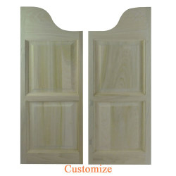 Western Arch Top Saloon Doors | Swinging Cafe Doors