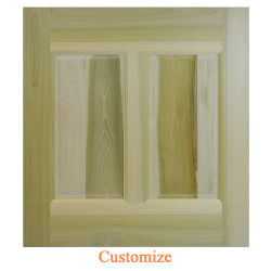 Custom Dutch Door  / Half Door- Lower Door Only | Swinging Cafe Doors