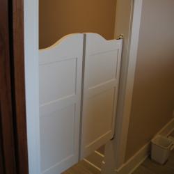 Shaker Saloon Doors- Finished Bathroom