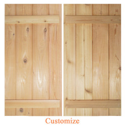 Board and Batten Barn Doors | Saloon - Swinging Cafe Doors
