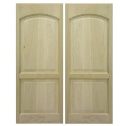 Roman Arch Saloon Doors | Swinging Cafe Doors