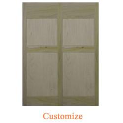 Single Colonial Shaker Style Saloon Door | Cafe Door