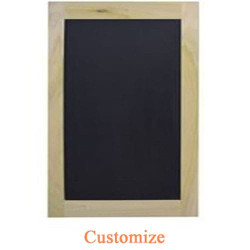 Single Chalkboard Cafe Door