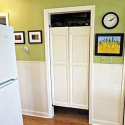 Swinging Pantry Doors Installed