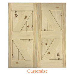 Barn Style Doors- Interior Barn Doors Diamond Design