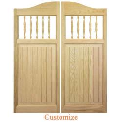 Craftsman Western Swinging Saloon Doors | Swinging Cafe Doors