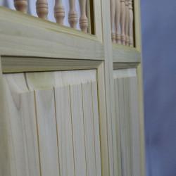 Side Profile of Craftsman Western Saloon Doors