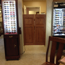 Commercial Grade Saloon Doors- Commercial Setting