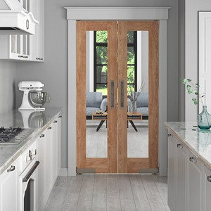Difference between Saloon Doors and French Doors