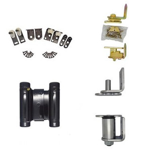 Cafe Door Oil Rubbed Bronze Finish Double Acting Gravity Hinges Hardware w// Hold Open Feature for Saloon Swing Swinging Doors