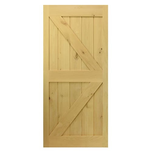 Single Barn Door- British Brace