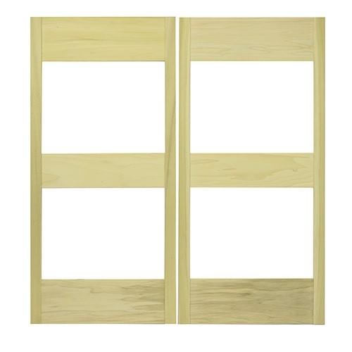 Glass Panel Cafe Doors | Saloon Doors