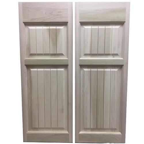 Craftsman Colonial Raised Panel Saloon Doors