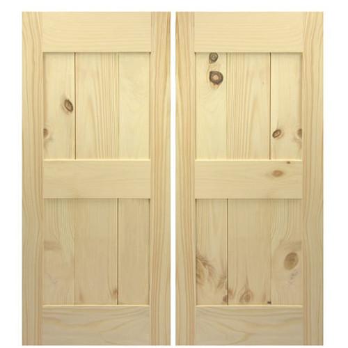 Framed Board and Batten Barn Doors    Interior Barn Style Doors