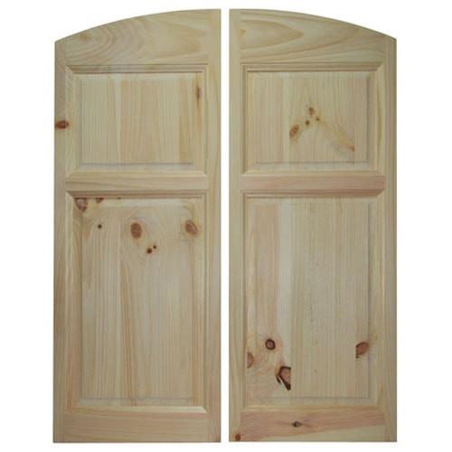 Archway Style Saloon Doors   Cafe Doors