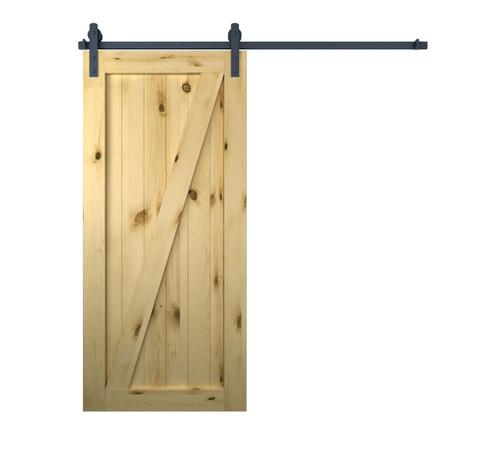 Rustic Wooden Sliding Door | Interior Barn Style Door