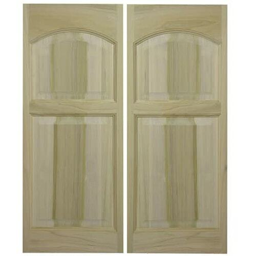Rounded Arch | Eyebrow Arch Saloon Doors