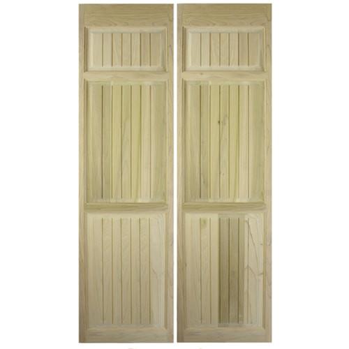Craftsman Full Length Saloon Doors | Swinging Cafe Doors