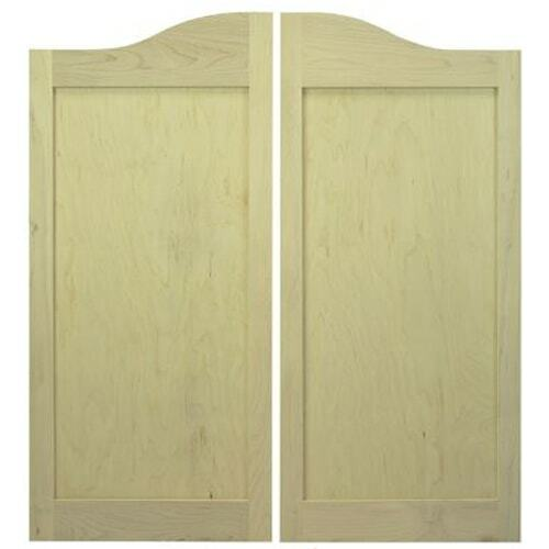 Classic Arch Top Saloon   Cafe Doors