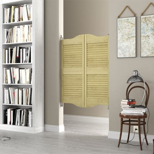 Cottage Louvered Doors