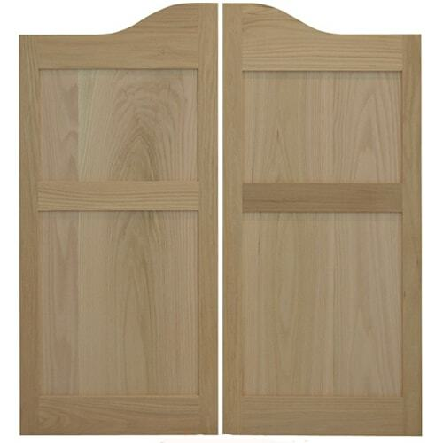 Custom Arch Top Shaker Style Saloon Doors