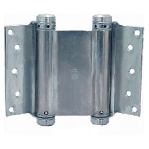 """Bommer 7"""" Double Action Spring Hinge- Half Surface"""