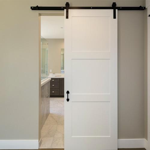 Custom Modern Barn Door - Custom Heights | Barn Style Door