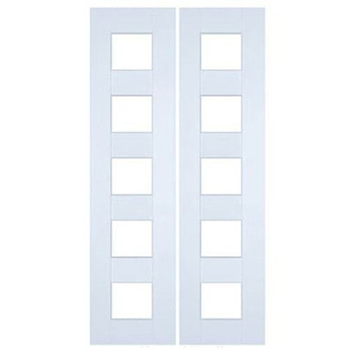 Modern Glass Doors- Half Doors | Swinging Cafe Doors