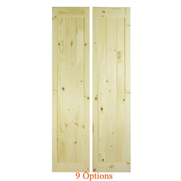 Interior Barn Doors | Closet Barn Doors | Plain Barn Doors