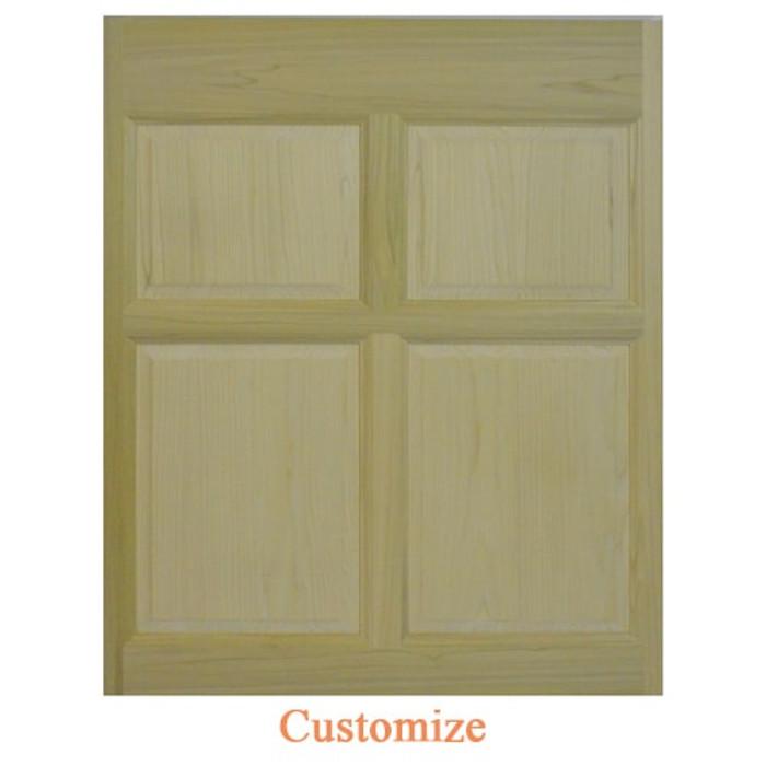 Custom Single Colonial Wooden Caf?? Door | Swinging Caf?? Doors