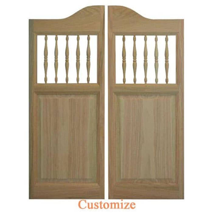 Western Spindles Saloon Doors | Swinging Café Doors