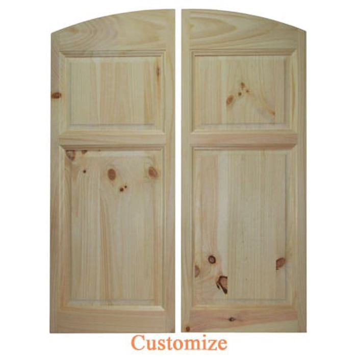 Archway Style Saloon Doors | Swinging Cafe Doors | Bar Doors