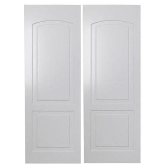 Custom Roman Arch Saloon Doors | Swinging Cafe Doors