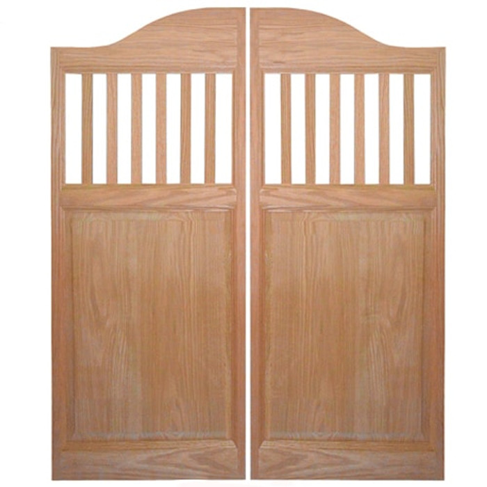 Mission Style Saloon Doors | Swinging Cafe Doors