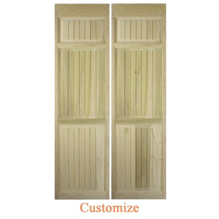 Craftsman Full Length Swinging Cafe Doors | Interior Doors