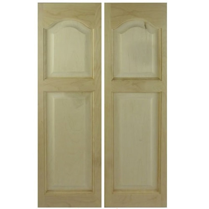 Cathedral Arch Wooden Saloon Doors | Cafe Doors