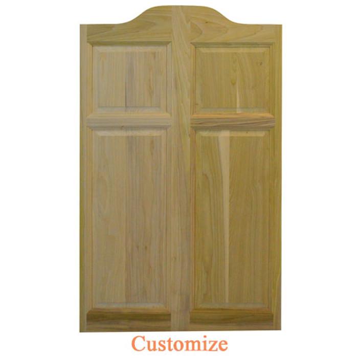 Single Center Arch Swinging Cafe Door | Saloon | Swing Door