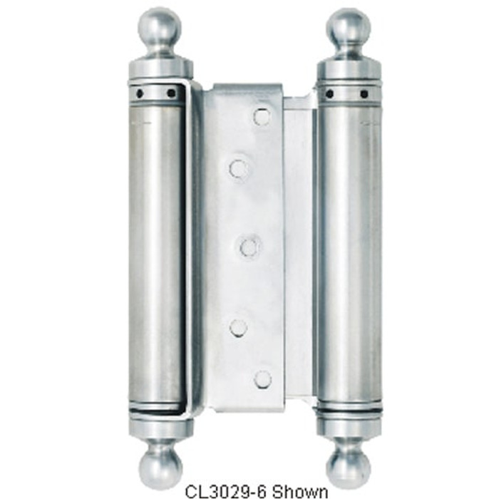 "Bommer 7"" Classic Tip Double Action Spring Hinge - All Finishes Available"
