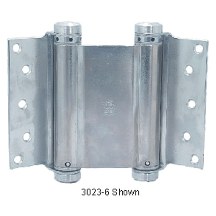"""Bommer 8"""" Double Action Half Surface Spring Hinge - All Finishes Available"""