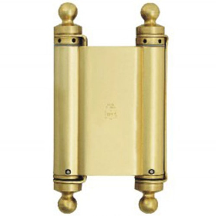 "Bommer 8"" Double Action Classic Ball Tips Half Surface Spring Hinge - All Finishes Available"