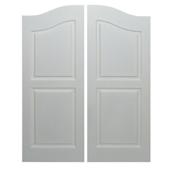 "Scratch and Dent! Saloon Doors | Cafe Doors Fits Any 24"" or 2' Door Opening- Primed"