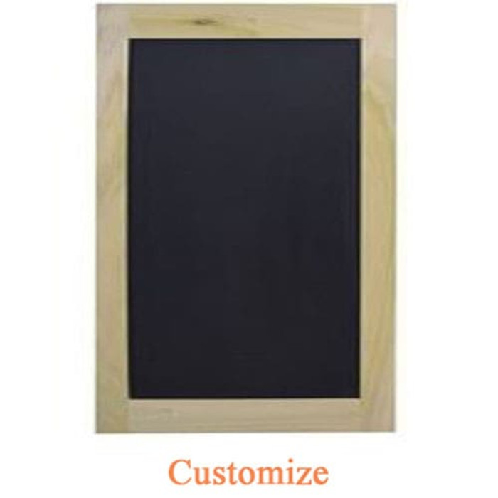 Single Chalkboard Cafe Door | Swinging Cafe Doors