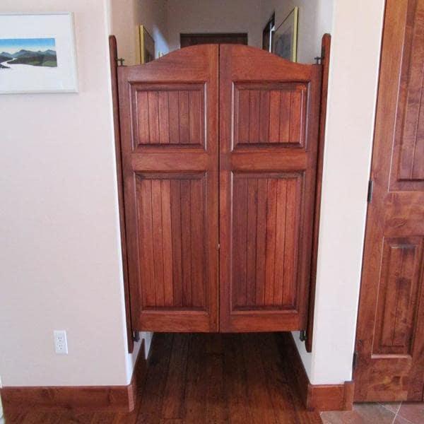 Craftsman Arch Top Saloon Doors | Swinging Doors